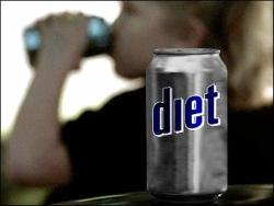 Artificially sweetened soft drinks a common source of aspartame
