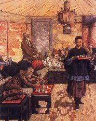 Old opium den (Illustration: Wikimedia)