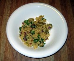 Quinoa salad (Photo: Karen and Brad Emerson)
