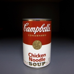 Bisphenol A can be found in soup can linings (Photo: Robert Couse-Baker)