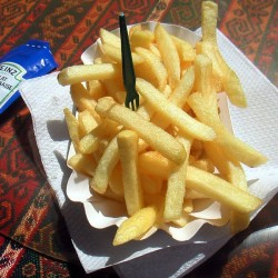 French fries are probably not French (Photo: Cyclonbill)