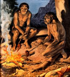 Cavemen's diet the latest fad.