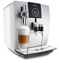 Espresso machine producing strong coffee