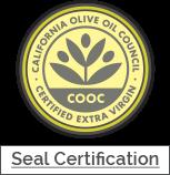 Olive oil certification